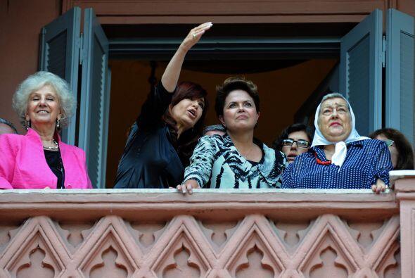 Cuando se hizo mención de la Unasur, la mandataria brasile&ntilde...