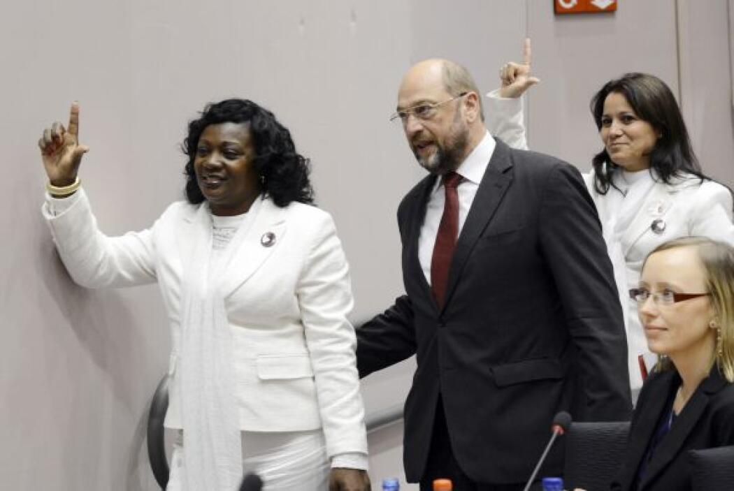 Las Damas de Blanco dedicaron el premio a Laura Pollán, y su hija dijo:...