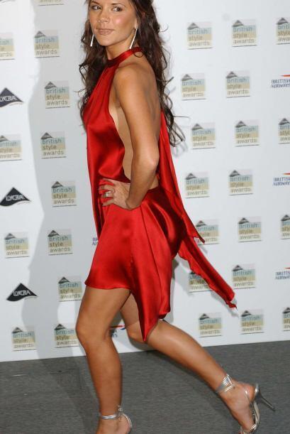 La ex Spice Girl se convirtió en diseñadora de moda y después en un trem...