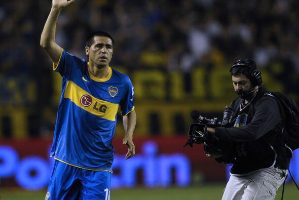En tanto en Boca Juniors regresó Juan Román Riquelme luego...
