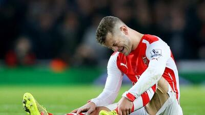 El mediocampista del Arsenal será baja durante al menos tres meses.