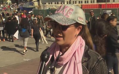 Alicia Machado afirma que la Marcha de las Mujeres no fue un llamado de...