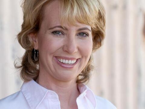 La congresista Gabrielle Giffords , herida de un balazo en la cabeza en...