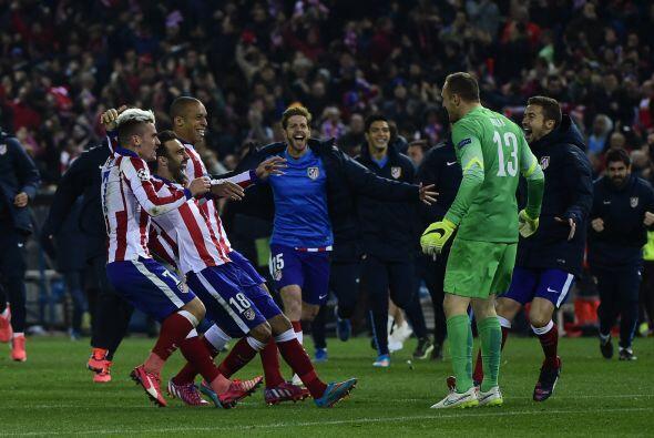 En el quinto penal Fernando Torres anotaría por los colchoneros mientras...