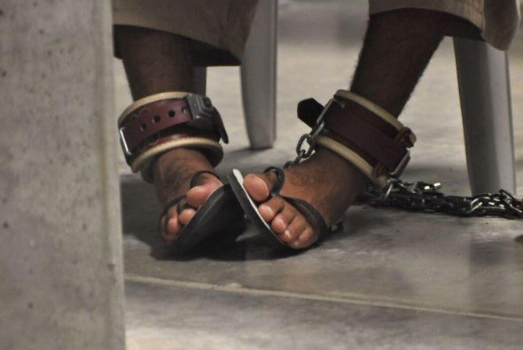En los momentos pico, hubo hasta 900 detenidos en Guantánamo pese al rec...