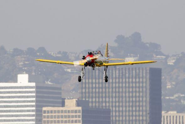 """Es un avión """"vintage"""" de dos plazas, modelo PT-22."""
