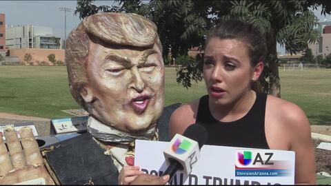 Reacciones por la visita del hijo de Donald Trump