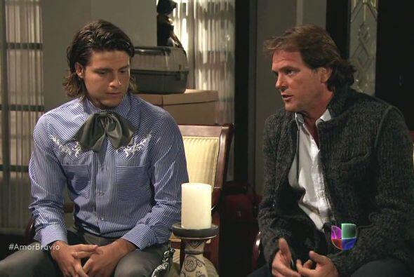 Mariano y su hermano se presentan ante Camila para decirle que Isadora s...