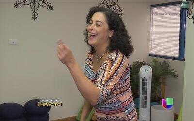Una mujer en Florida se dedica a sanar repartiendo alegría