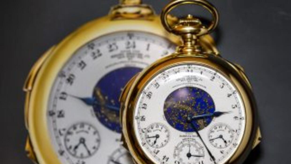 "El reloj de bolsillo ""Henry Graves Supercomplication"" de Patek Philippe..."