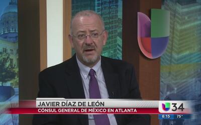 Consulado de México en Atlanta busca mejorar procesos de atención