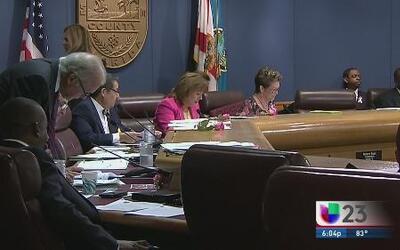 Acalorado debate por presupuesto de Miami Dade