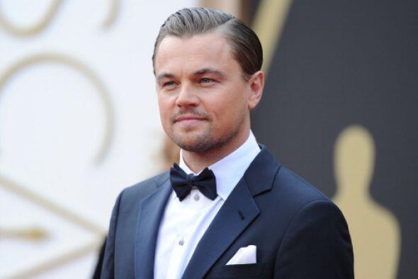 Así estábamos acostumbrados a ver a Leonardo en las alfombras rojas...