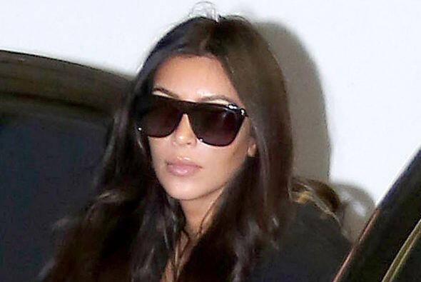 Hace unos días la Kardashian fue captada de nuevo a su llegada al gimnasio.