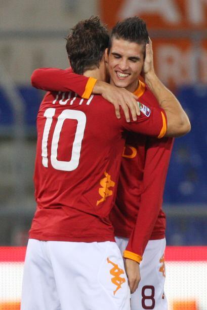 La dupla Totti-Lamela funciona a la perfección.
