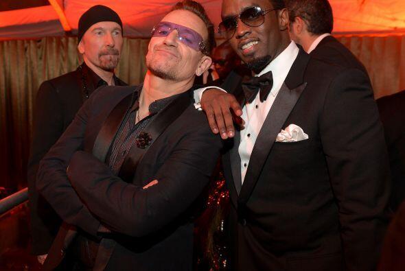 """Mira qué """"malotes"""" nos salieron Bono y P. Diddy. Mira a..."""