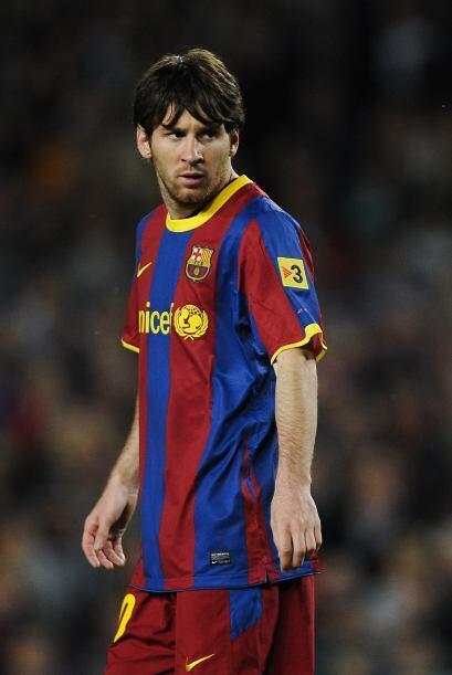 El  astro argentino del Barcelona, Lionel Messi es otro de los privilegi...