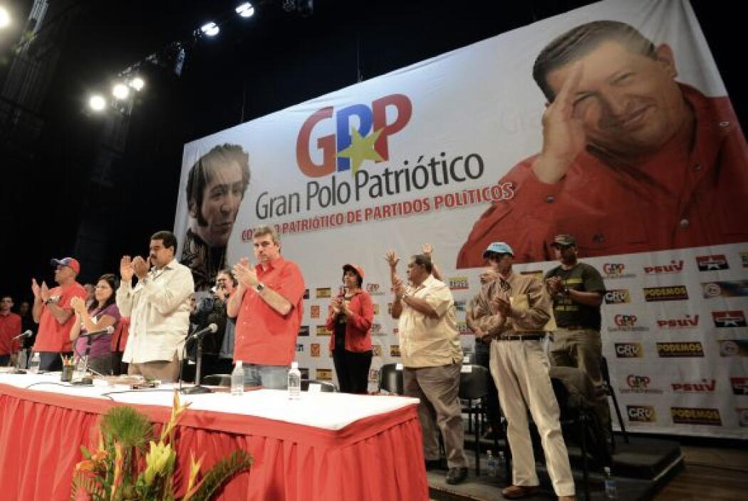 Nicolás Maduro, presidente encargado de Venezuela y candidato presidenci...