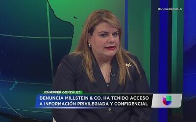 Jenniffer González radica querella contra AEE