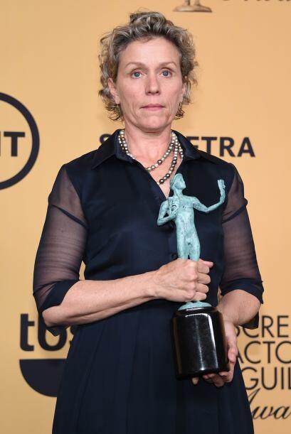 Frances McDormand ganó Mejor actriz en miniserie o cinta para TV por 'Ol...