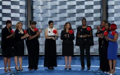"""""""Mothers of the Movement"""", madres de afroamericanos asesinados, entre el..."""