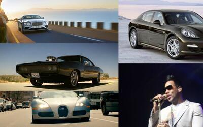 Conoce la colección de autos de Romeo Santos