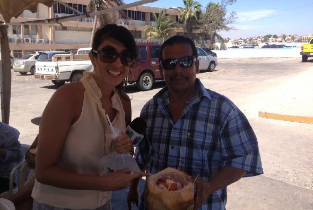 ¿Se habrá animado a probar Maity el coco con chile?
