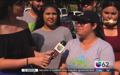 Dreamers de Arizona llegan a Texas para protestar contra la ley SB4