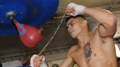Marcos Maidana entrena en Puerto Rico de la mano de Rudy Pérez.