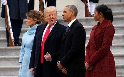 Obama y Trump son sus mujeres en el Capitolio.