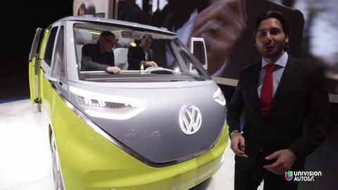 Volkswagen resucita al Microbus con el ID Buzz Concept