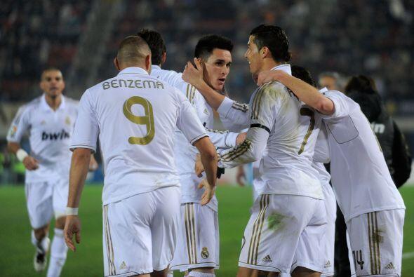 Finalmente Real Madrid se llevó el partido, ganó y sigue puntero.