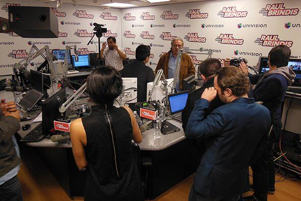 """Vinieron a hablar sobre el estreno de su película """"Filly Brown"""", en la q..."""