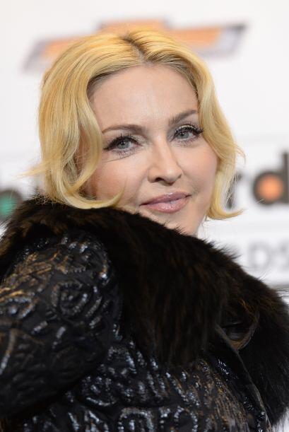 Madonna no es de las mujeres que necesita maquillarse en exceso para ver...
