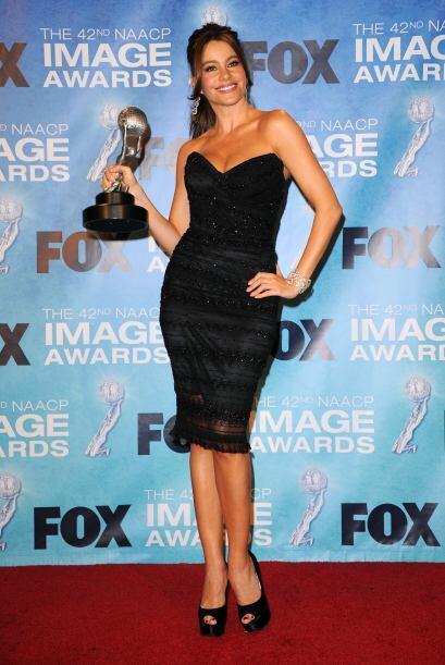 La actriz ha ganado gran audiencia y más fanáticos por su papel en la se...