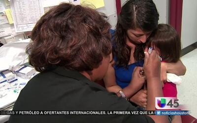Crece la cifra de niños no vacunados en Texas