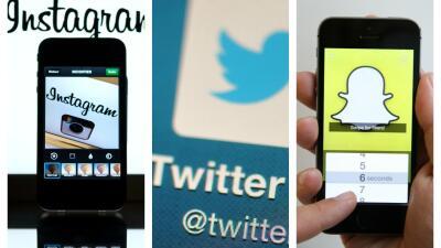 Instagram, Twitter y Snapchat, las redes preferidas