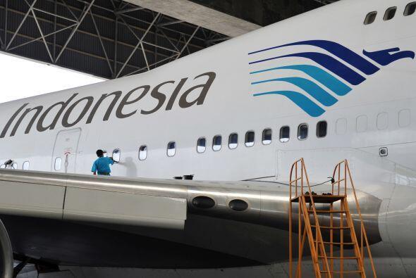 29- 633 son las víctimas fatales de Garuda Indonesia en 34 siniestros.