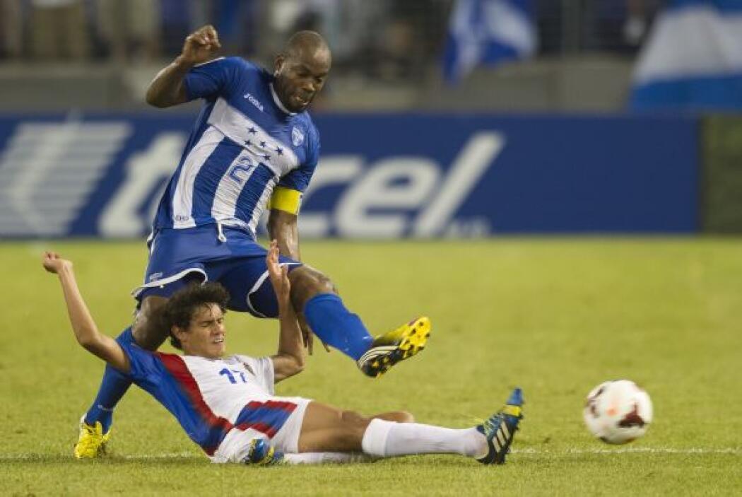 El tiempo se terminaba y el 1-0 a favor de Honduras se mantenía.