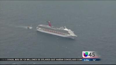Sujeto consiguió la muerte en un crucero de Carnival