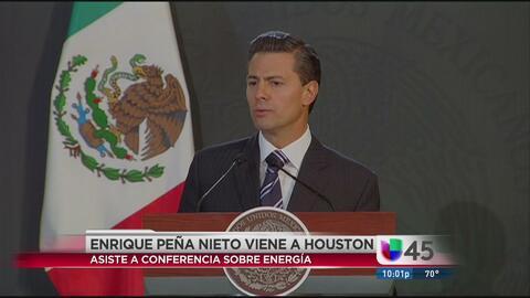 En Houston, esperan a Peña Nieto con protesta