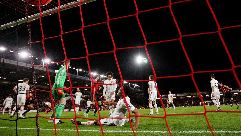 Bournemouth sorprendio al Manchester United