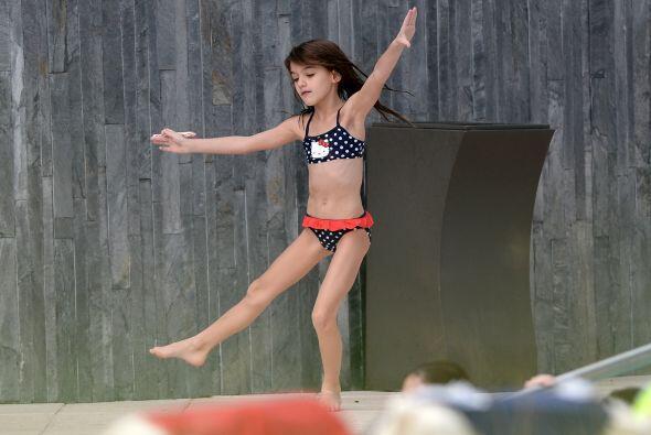 Katie Holmes y Suri Cruise hace poco se relajaron en Miami. Más v...