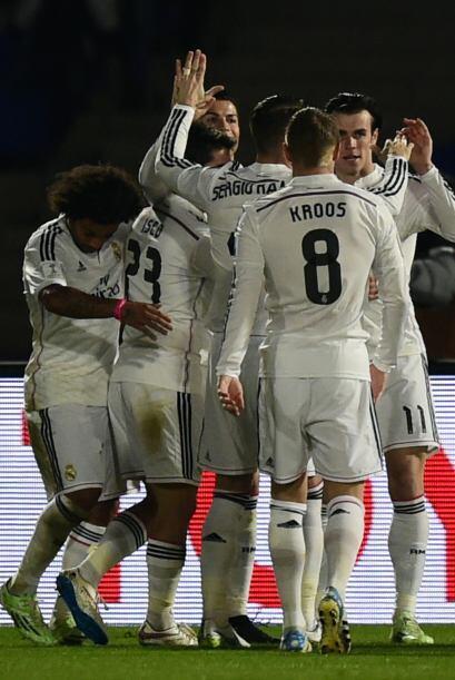 Al minuto 50 los merengues ampliarían el marcador con el gol de Gareth B...