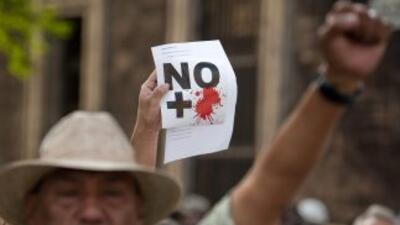 La violencia en México desbordó la capacidad de respuesta del gobierno d...