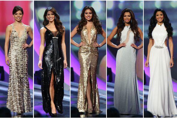 Las chicas lucieron hermosas en los vestidos del diseñador venezolano Sa...