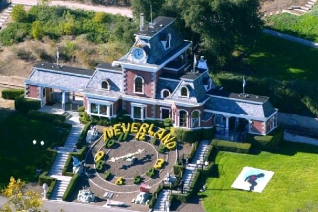 La propiedad está tasada en unos 30 millones de dólares y fue abandonada...