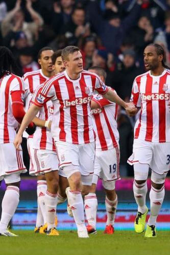 El Stoke se apuntó una buena victoria sobre el Reading en casa.