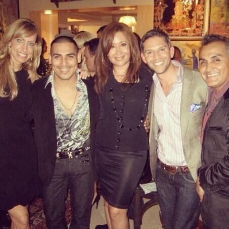 Aquí el equipo de El Gordo y la Flaca con Arturo Rivera y Espinoz...