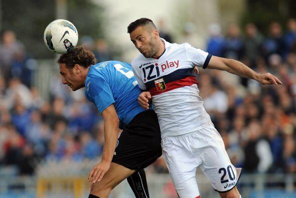 Por otra parte, Génova y Novara empataron 1 a 1.